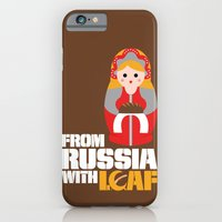 iPhone & iPod Case featuring from Russia with loaf by Biscayne