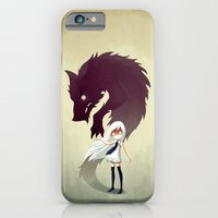 girl iPhone & iPod Cases featuring Werewolf by Freeminds