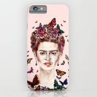 Frida Kahlo Flowers Butt… iPhone 6 Slim Case