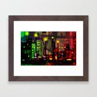 Skyline Fascination Framed Art Print