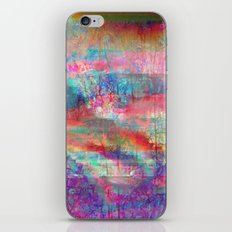 23-18-45 (Acid Rain Bed Glitch) iPhone & iPod Skin