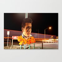 James Dean Fly by Night Canvas Print