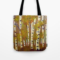 Birch trees-3 Tote Bag