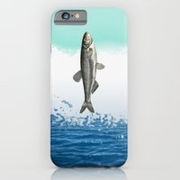 iPhone & iPod Case featuring little fish big fish by ravynka