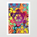Mosaic Art 1 Art Print