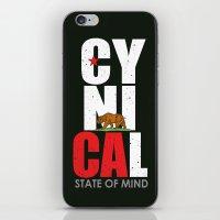 CyniCAl - white iPhone & iPod Skin