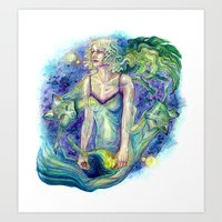 Transfixed Art Print