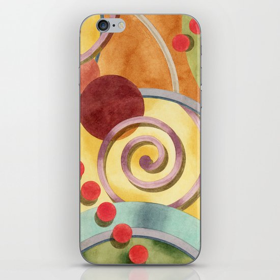 Europa Allover Design iPhone & iPod Skin