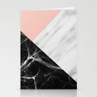 Marble Collage Stationery Cards