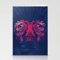 Face To Face, Owl To Owl Stationery Cards