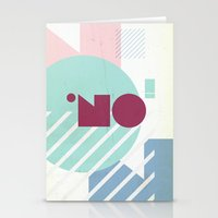 NO! Stationery Cards