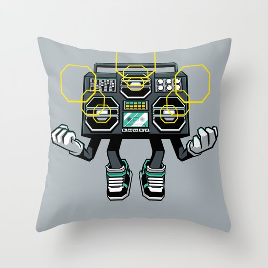 Rise And Amplify Throw Pillow
