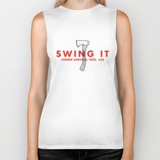 Swing it - Zombie Survival Tools Biker Tank