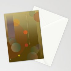 Circular Movement - Abstract Modern Poster Design Stationery Cards