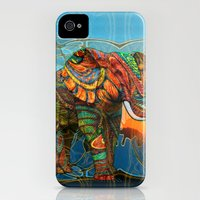 iPhone 4s & iPhone 4 Cases featuring Elephant's Dream by Waelad Akadan