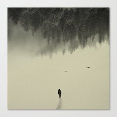 Silent walk Canvas Print