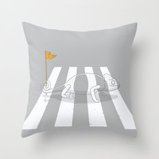Safety first Throw Pillow