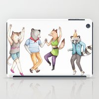 Party Animals iPad Case
