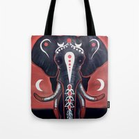 The Elephant Hasn't Forgotten Us Tote Bag