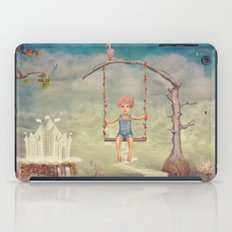 Mysterious city in sky iPad Case