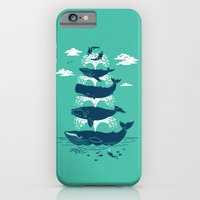 iPhone & iPod Case featuring Whale of a Time by Chris Phillips