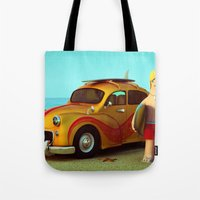 Surf Dude Tote Bag