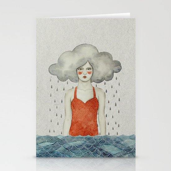 Aglaura Stationery Card