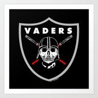 Oakland Vaders Art Print