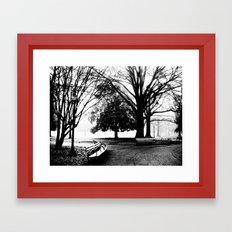 Park Framed Art Print