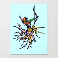 Atlantean Archer Canvas Print