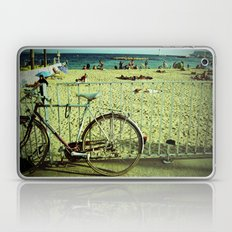 Bicycle by the Beach Laptop & iPad Skin
