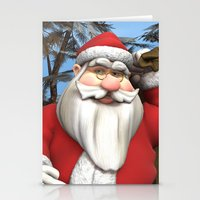 Santa Stationery Cards