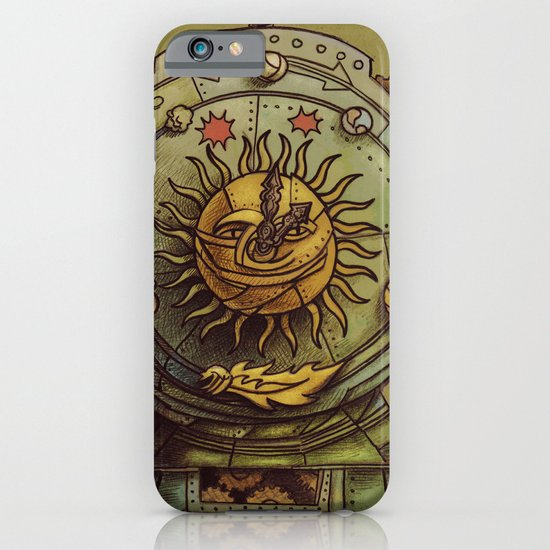 Cosmic Clock iPhone & iPod Case