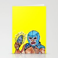 Don't Take My Ice Cream Stationery Cards