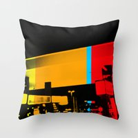 Aberration Station Throw Pillow