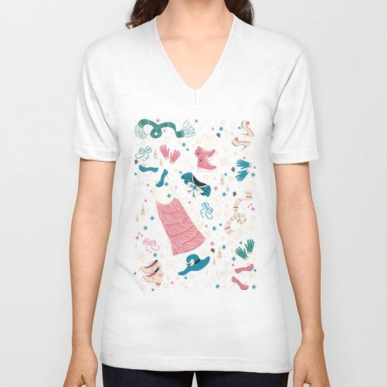 Frou Frou V-neck T-shirt