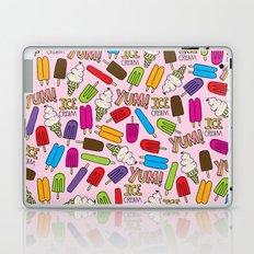 Ice Cream Doodles Laptop & iPad Skin