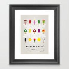 My NINTENDO ICE POP - No… Framed Art Print