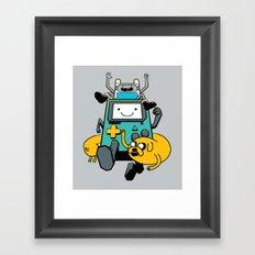 Portable Time! Framed Art Print