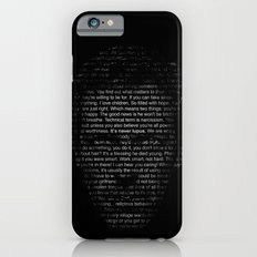 House MD Quotes Print (It's never lupus) iPhone 6 Slim Case