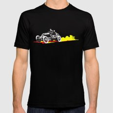 Classic Race Car Number 63 Black Mens Fitted Tee SMALL