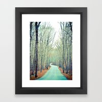 Off the Grid Framed Art Print