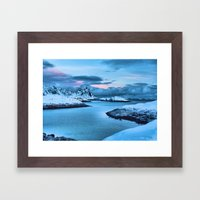 Clouds Roll In Framed Art Print