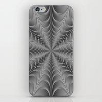 Silver Web iPhone & iPod Skin