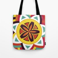 Mandala Love Pattern Tote Bag
