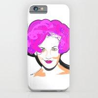 iPhone & iPod Case featuring Drew Barrymore by Urban Punk - Matt Skelnik