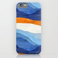 iPhone & iPod Case featuring Mountains in the Morning by Chris Klemens