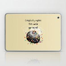 Creativity makes the world go round! Laptop & iPad Skin