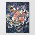 Mermaids in Space Canvas Print