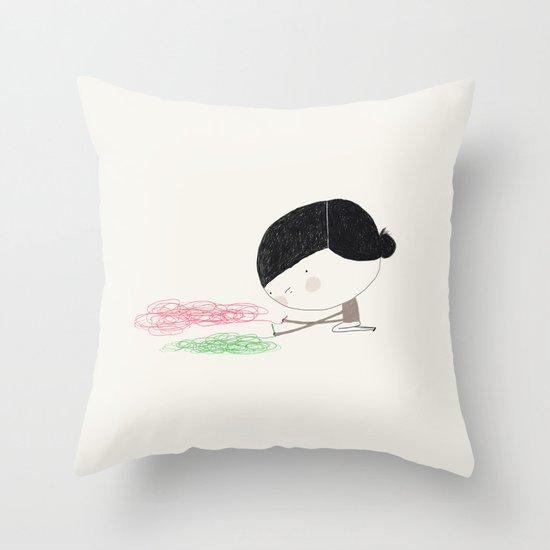 Skilful Throw Pillow